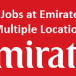 MANAGER CARGO - GROUND OPS LOAD ENGINEERING JOB IN DUBAI - EMIRATES GROUP